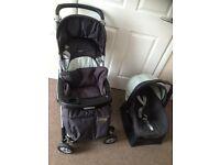 Mama & Papas pushchair & car seat £50
