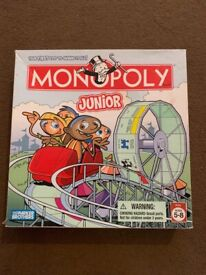 Monopoly Junior (Age 5-8) collect only pse