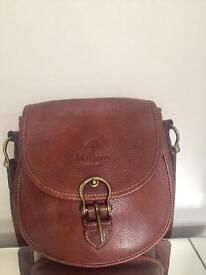 Mulberry Vintage Wexford Leather Saddle Bag