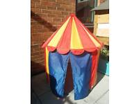 Childs circus play den / tent