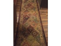 Beautiful Patterned Runner Rug 80cm x 280cm *perfect condition*