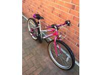 "Girls/ladies bike 24"" wheels size"