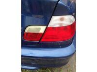 Bmw e46 coupe back lights