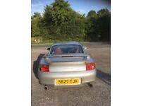 Porsche 911 3.4 996 Carrera 2 Tiptronic S artic silver, full leather interior