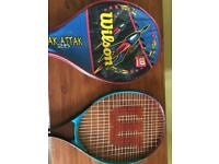 Child's Wilson Rak Attack Tennis racket