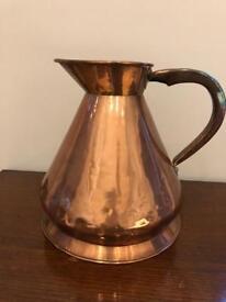 Solid copper 2 gallon jug (Loftus)
