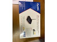 ZyXEL ultra high-speed wireless router ADSL 2+ gateway