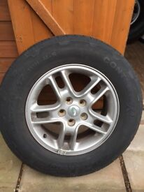 Discovery 3 alloy wheels and tyres