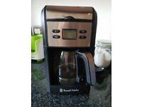 Russell Hobbs filter coffee machine
