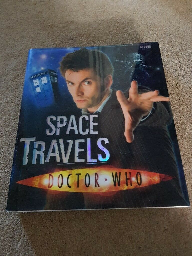Large book Dr Who