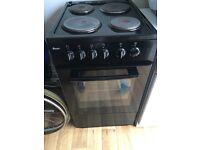 Black single oven