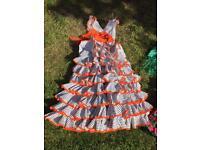 Traditional Flamenco Dress, Girls