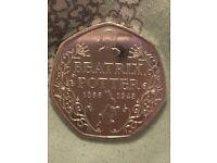 Rare Beatrix Potter 50p