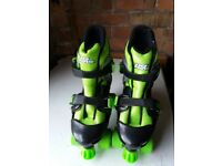 No Fear children's adjustable Quad Skates size 1-4