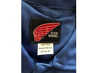 """Brand new redwing boiler suit size 48"""" royal blue"""