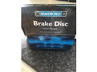 Pair of brake discs fully boxed