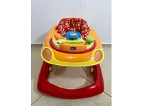 CHICCO BABY WALKER WITH SOUNDS CAR RED UNISEX