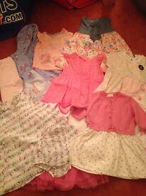 6-9 month clothing bundle girls