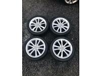 "Genuine 17"" Audi Alloy Wheels. 17 inch"