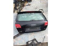 Audi A3 8P 4 Door Rear Boot Lid Tailgate Black (Fits: Audi A3 2011)