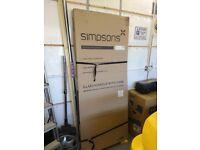 Simpsons Edge 800mm Wide Infold Shower Door - EIDSC0800 (BRAND NEW)