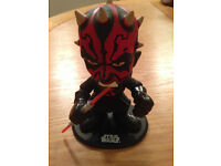 Star Wars Official Funko Darth Maul Ultra-Stylized Bobble-Head with box - Didsbury area