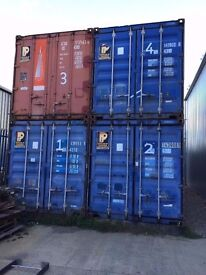 4 x Forty-Foot Containers