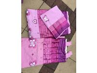 Next curtains & single quilt