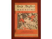 Collection of 25 Enid Blyton magazines dated from 1955-1956. Most in good condition.