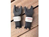 Bugaboo Cameleon adapters for Maxi Cosi Car Seat