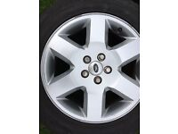 Landrover discovery 3 alloys with good tyres wanted