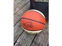 Bag of 7 Baden Elite indoor Basketball's