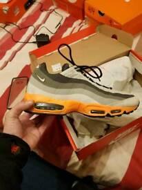 Nike air max 95 no sew size UK 8.5