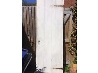 Barn door. This much loved door is looking for a new home
