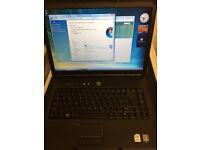 Dell Vostro 1500 Windows Vista 3GB RAM 120GB HDD & Original Charger