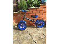 Boys Balance Bike suit 3-5 years.