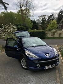 Peugeot 207 for sale - 2007 plate