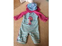 Girls swimsuit 18-24 mths