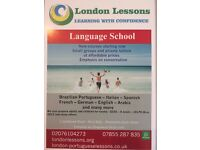 English courses starting this week -£80 per student per month -Small groups -General English classes