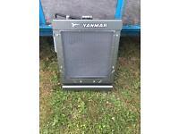 Yanmar 3 cylinder diesel radiator assy
