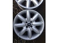 Mini Cooper s wheels
