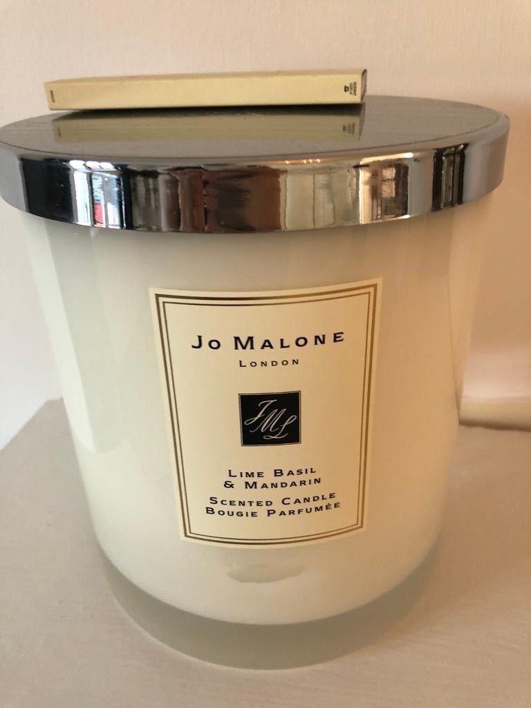 Jo Malone Luxury Xl Candle New In Box Lime Basil Mandarin