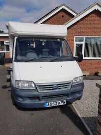 Starter motorhome very low mileage full service history