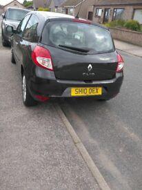 Renault clio black 2010