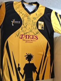 Signed Lashings Cricket Shirt