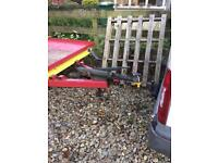 Car and plant machinery trailer