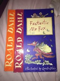 Fantastic mr Fox & James and the giant peach