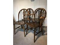 Ercol set of chairs