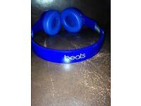 Blue beats headphones