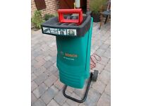 Bosch Garden Shredder with instructions